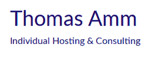 Thomas Amm Hosting + Consulting Logo